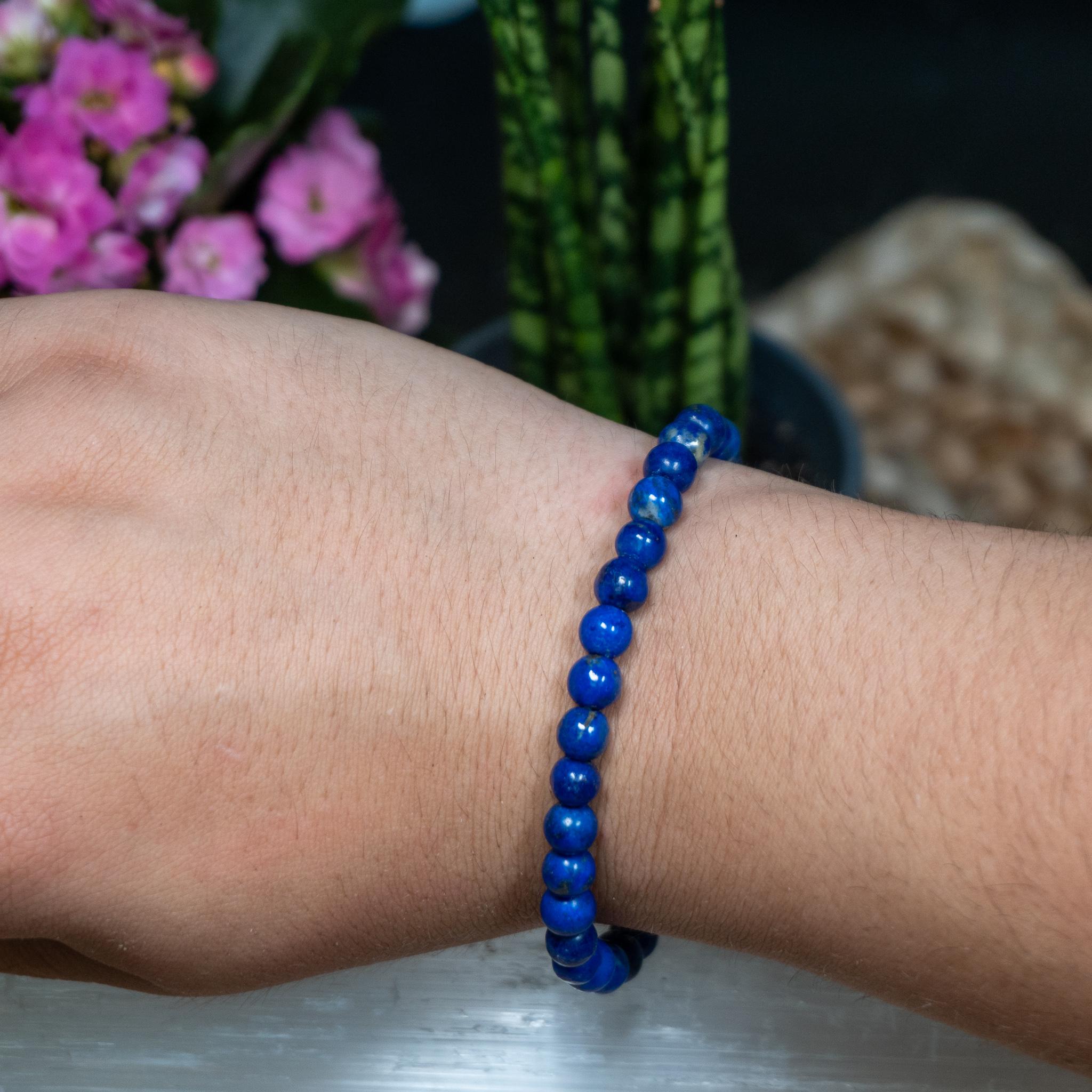 Lapis Lazuli Bracelet (6mm)