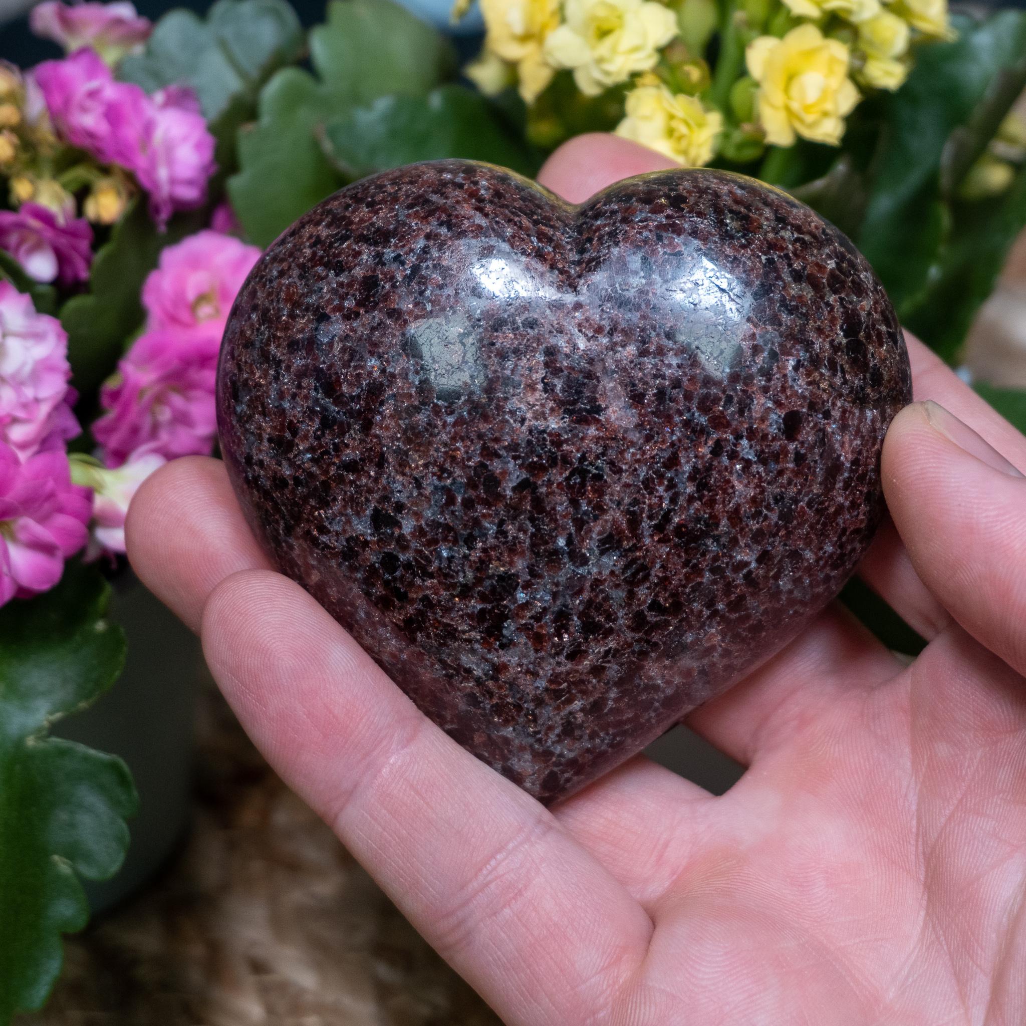 Large Grenatite Heart