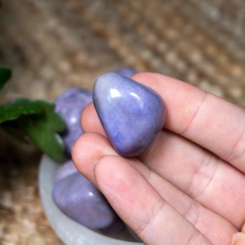 Purple Jade Tumbled