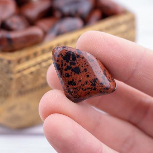 Mahogany Obsidian Charity Stone