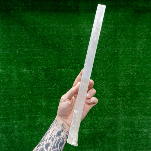 XL Raw Selenite Stick