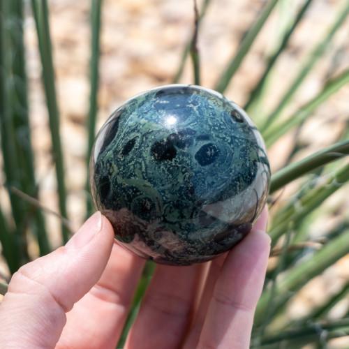 Small Kambaba Jasper Sphere
