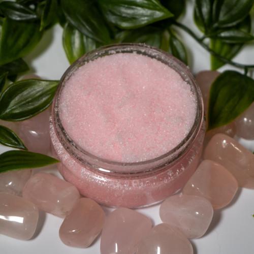 Rose Quartz Lip Scrub
