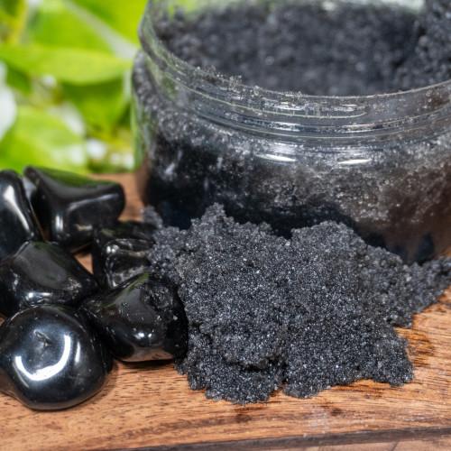 Black Obsidian Salt Scrub