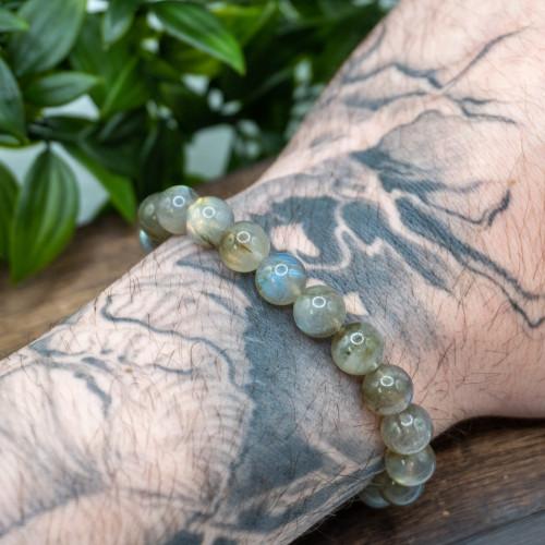 High Flash Labradorite 10mm Bracelet