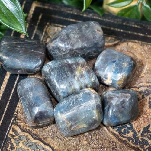 Sapphire Tumbled