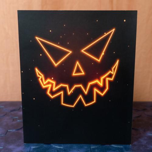Jack-o-Lantern Popup Card
