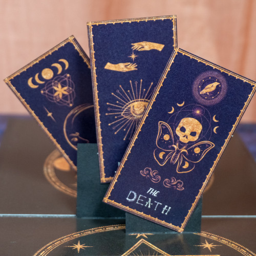 Tarot Card Popup Card
