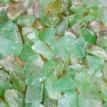 Green Calcite Pocket Squares