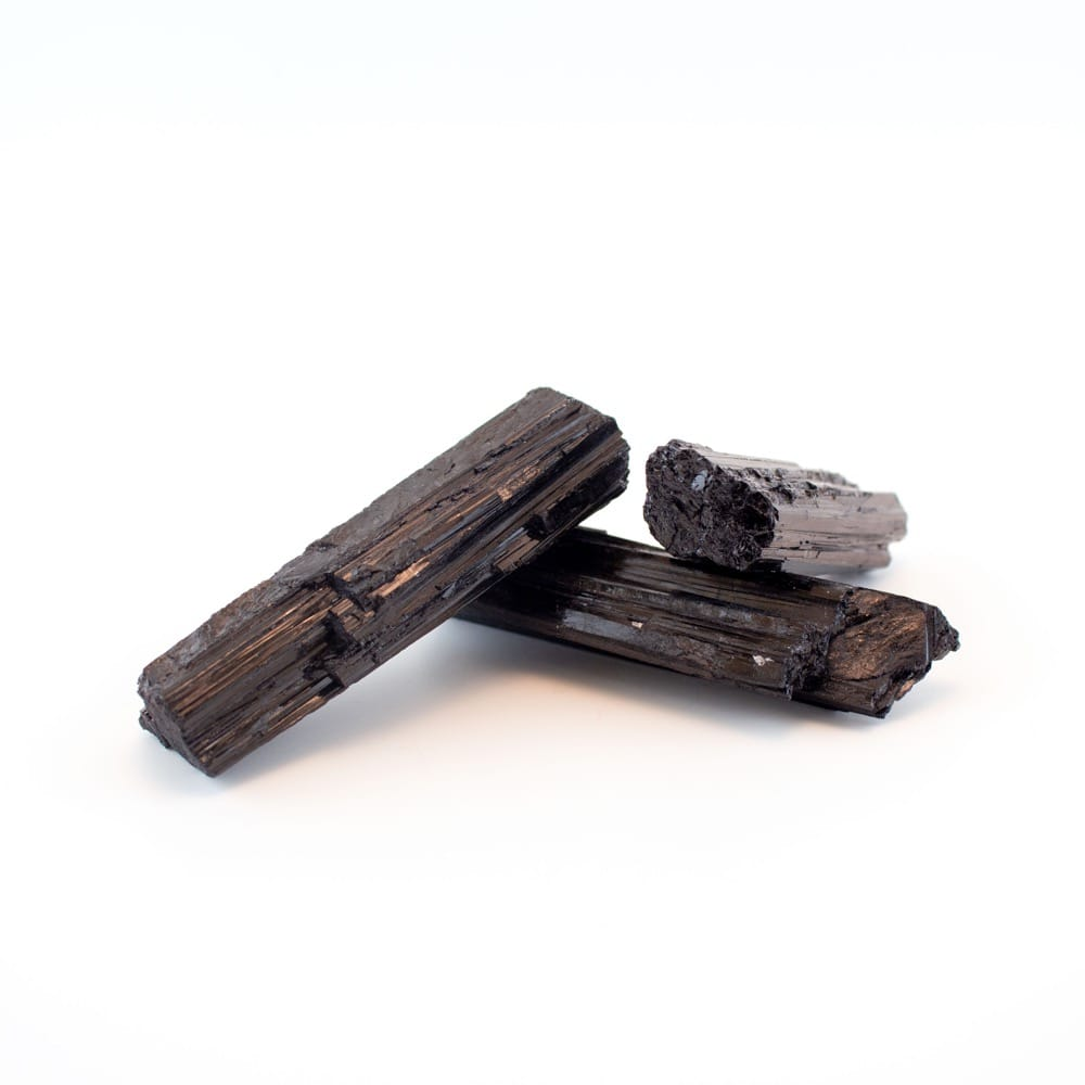 Black Tourmaline Raw Pocket Logs