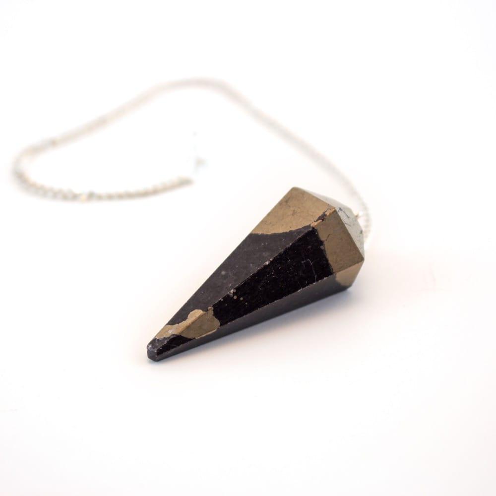 "Pyrite ""Manifestation"" Pendulum"