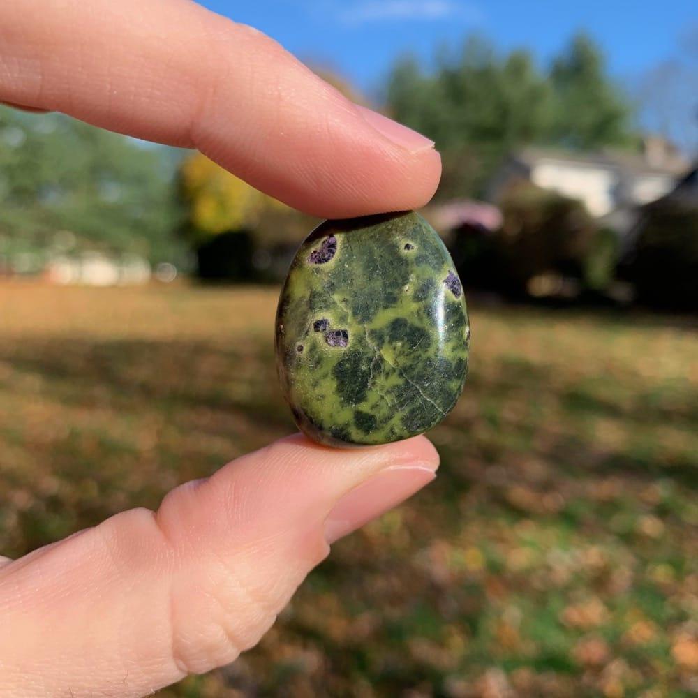 Polished Atlantisite Pocket Stone