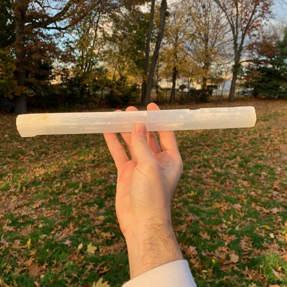 "12"" Selenite Stick"