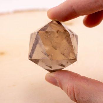 Smoky Quartz Icosahedron