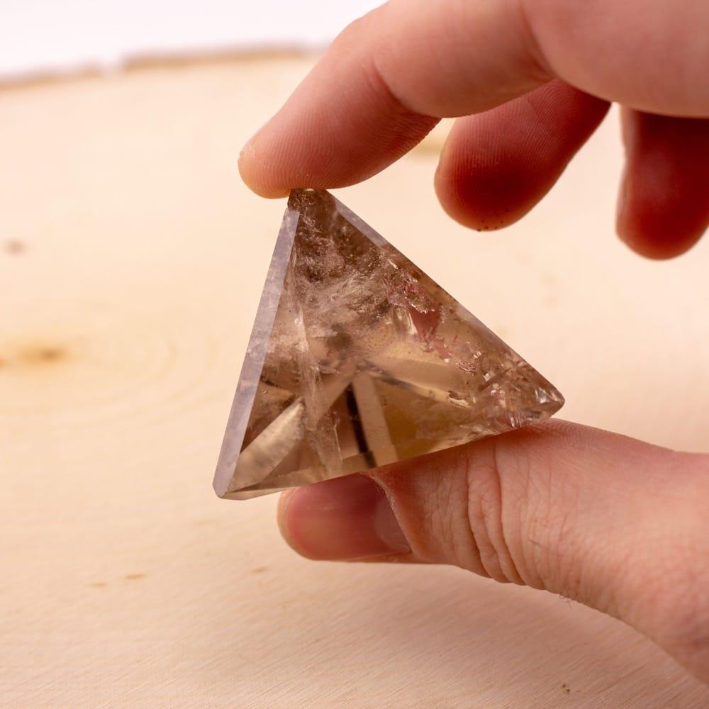 Smoky Quartz Pyramid (Tetrahedron)