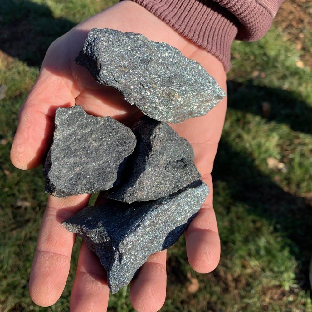 Spectral Hematite Chunks