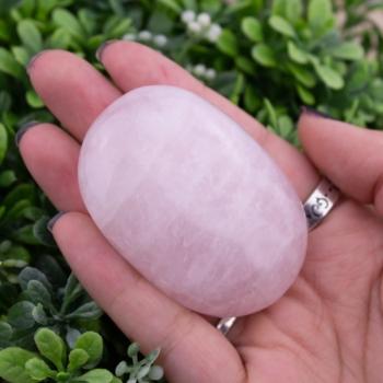Rose Quartz Palmstone