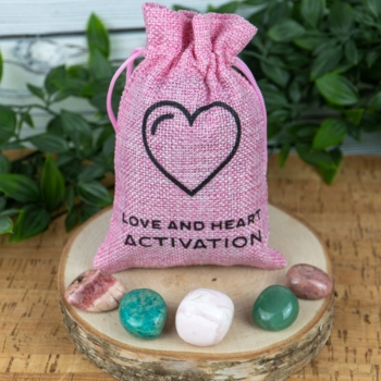 Love & Heart Activation Meditation Satchel