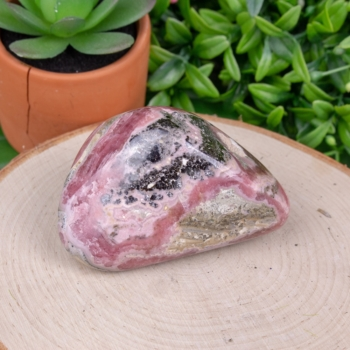 Medium Polished Rhodochrosite #3