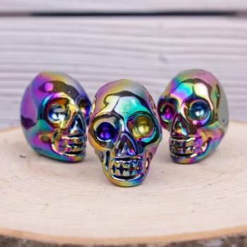 Titanium Quartz Skull
