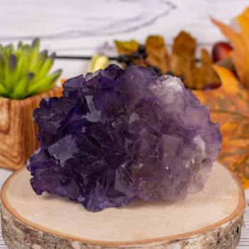 Purple Fluorite #14