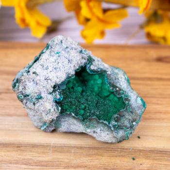 Crystallized Malachite #8