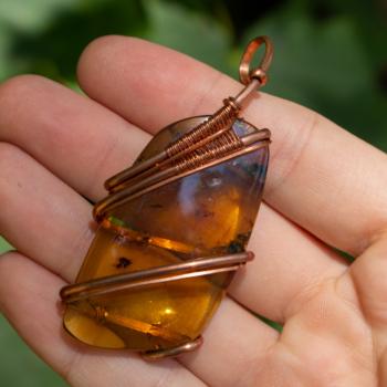Medium Amber Wrap