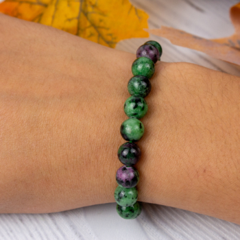 Ruby Zoisite (High Quality) Bracelet