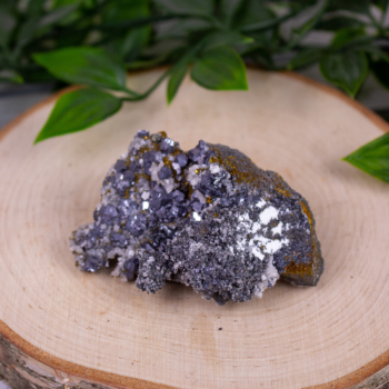 Chalcopyrite with Galena and Dolomite