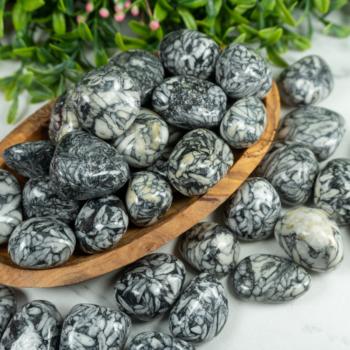 Tumbled Pinolite